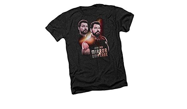Star Trek Mens Vulcan Mind Ringer T-Shirt