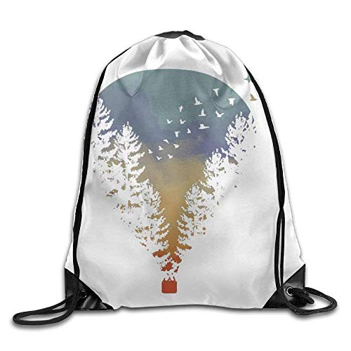 Dicobrune Unisex Drawstring Backpack, Iris Flower Art Unisex Outdoor Gym Sack Bag Sport Drawstring Backpack Bag