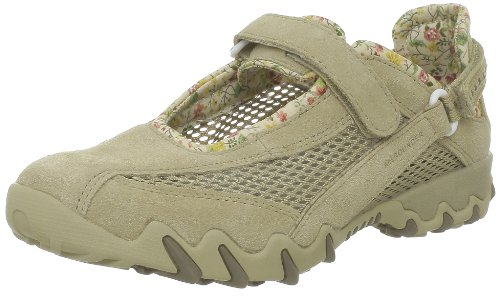 Mephisto Allrounder NIRO Suede Open mesh Walking Shoes for Women Nature Beige (4(UK) 6.5(US))