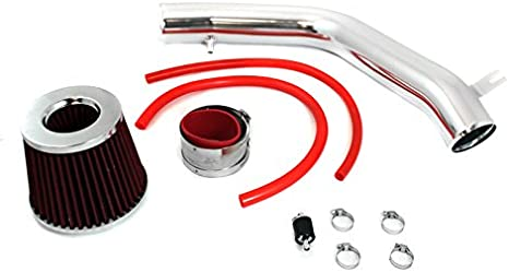 RED Filter For 95-02 Accord 2.7L//3.0L V6 Cold Air Intake Kit