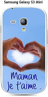 Onozo Carcasa Samsung Galaxy S3 Mini Design Maman Je T Aime: Amazon.es: Electrónica