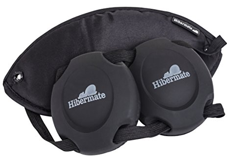 hibermate sleep mask with ear muffs for better sleeping at home or travel  luxurious light