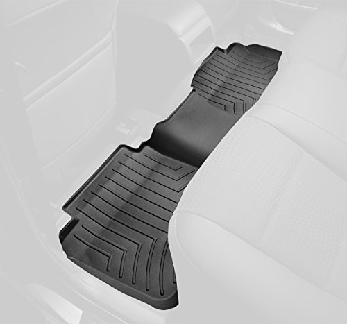 WeatherTech Custom Fit Rear FloorLiner for Select Dodge Ram Models (Black) (2015 Ram 1500 Weathertech compare prices)