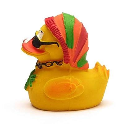 Latex Rubber Duck Lanco Rasta: Toys & Games