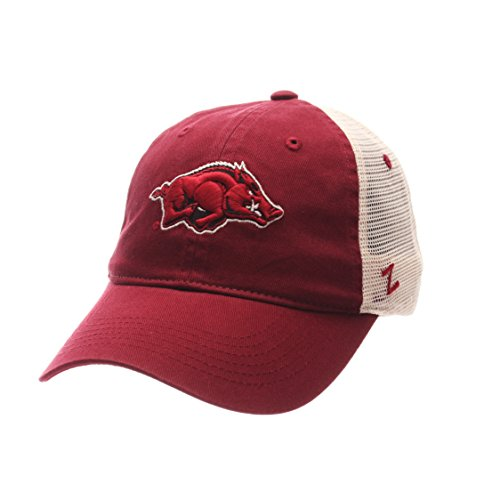 NCAA Arkansas Razorbacks Adult Men University Relaxed Cap, Adjustable, Team - Men Arkansas