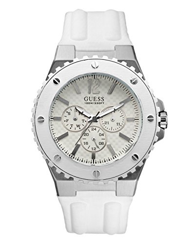 Guess W10603G1 Mens OVERDRIVE White Watch