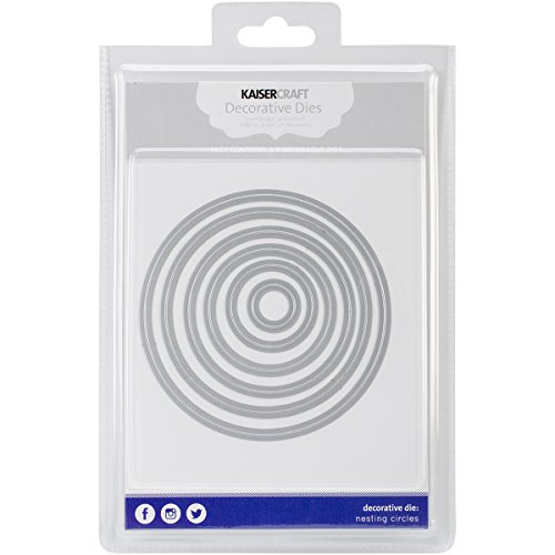 - Kaisercraft DD507 Nesting Dies-Circles.75 by .75-Inch to 4.25 by 4.25-Inch