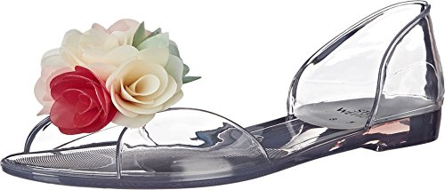 Stuart Weitzman - Mocasines para mujer Clear Jelly
