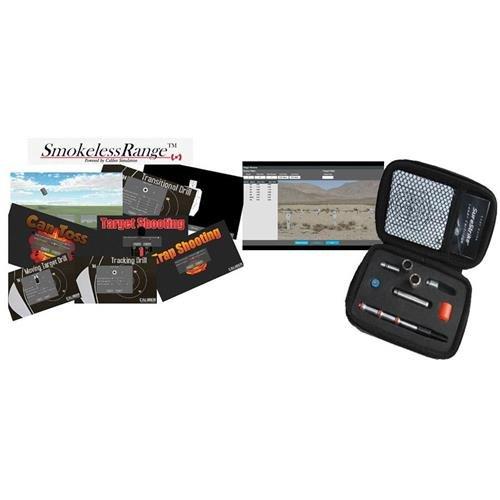 Laser Ammo Smokeless Range/Surestrike Ultimate LE Kit and Open Range Bundle Includes Smokeless Range Home Laser Shooting Simulator, Open Range Software SureStrike Ultimate LE Edition