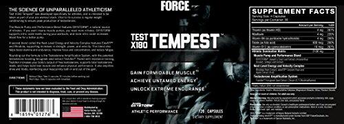 Force Factor Test X180 Tempest