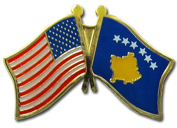 Kosovo (Kosova) - Friendship Lapel Pin