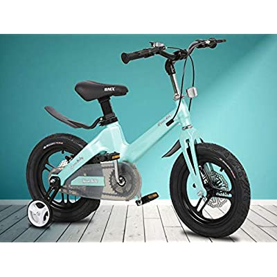 LINGS Foldable Bicycle Kids' Bikes Children's Bicycle 18 Inch Boy 3-6-8 Years Girl Bicycle: Home & Kitchen