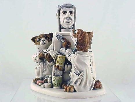 Excellent condition! Harmony Kingdom Pot Bellys Cat Mouser Feline Treasure Jest Figurine