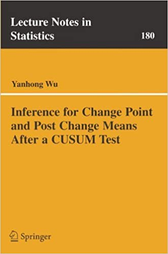 Inference for Change Point and Post Change Means After a
