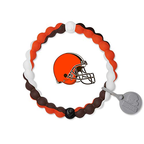 NFL Collection Bracelet, Cleveland Browns, Size Extra Large (7.5