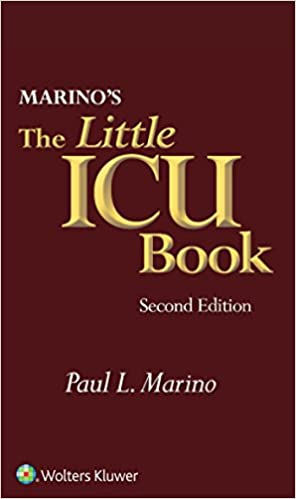 Marinos The Little ICU Book