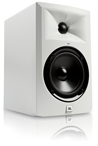 JBL LSR305 WH Powered Studio Monitor