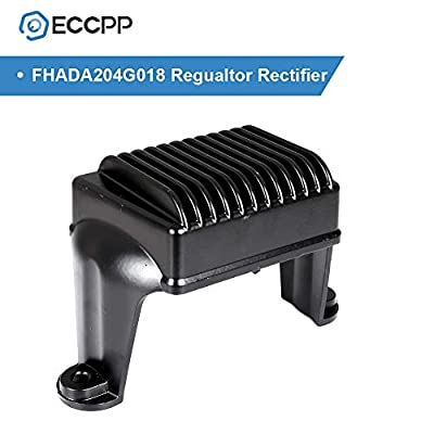 ECCPP Voltage Regulator Rectifier Fit for 06 07 08 Harley-Davidson Electra Glide Harley-Davidson Road Glide Harley-Davidson Road King Harley-Davidson Street Glide 498276 49-8276 Rectifier Regulator: Automotive