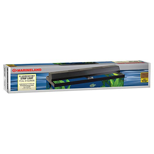 - Perfecto Manufacturing APF26302 Marineland Fluorescent Perfect-a-Strip Light Reflector for Aquarium, 30-Inch, Black