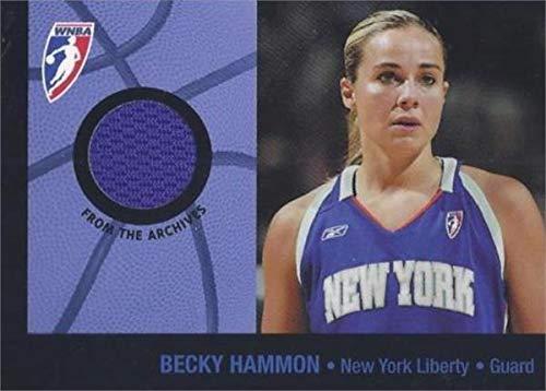 worn jersey patch basketball card (WNBA Legend, New York Liberty) 2005 WNBA Enterprises #BR1 ()