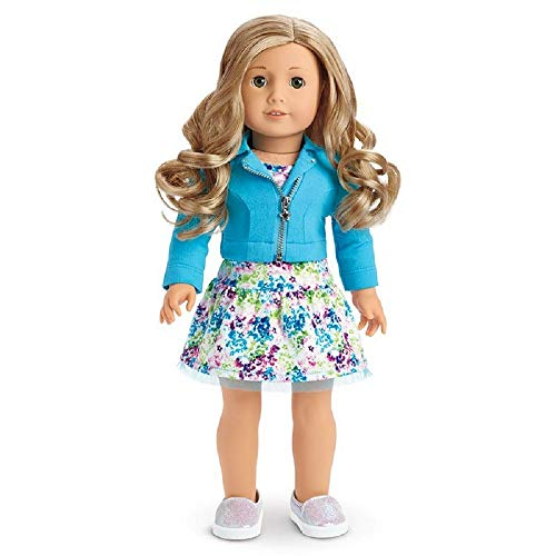 American Girl Truly ME #78 Doll Curly Blond Hair Green ()