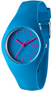 Ice Watch Unisex Blue Dial Silicone Band Watch - ICE.SB.U.S.12
