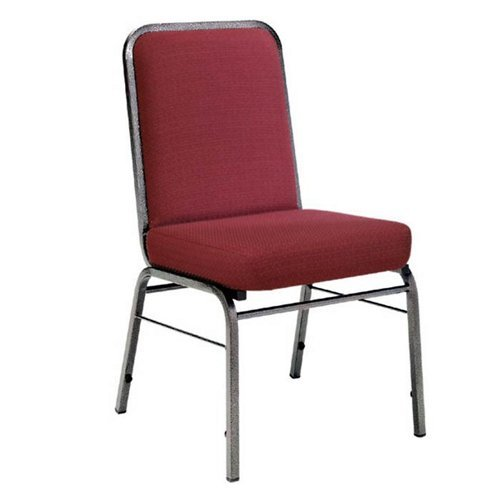 OFM Comfort Class Stack Chair in Wine (Ofm Comfort Class Stack Chair)