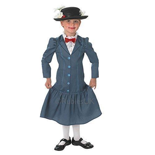 migliore le migliori marche qualità eccellente Rubie's - Costume da Mary Poppins per bambine, composto da vestito ...