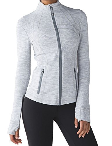 Lululemon Define Jacket (4, Wee Are From Space Ice Grey Alpine White)