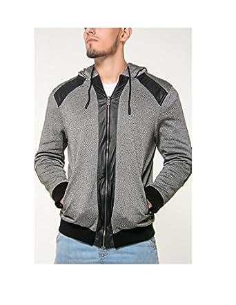 Miguelo Romano Men's Armored Grey Hoodie (Medium)