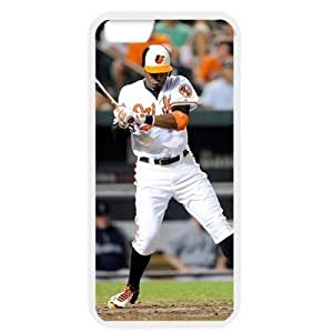 MLB iPhone 6 White Baltimore Orioles cell phone cases&Gift Holiday&Christmas Gifts NBGH6C9125401