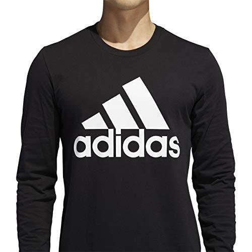 adidas Men's Basic Badge of Sport Long Sleeve Tee 4