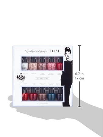 6b2103863 Amazon.com: OPI Breakfast at Tiffany's Mini Pack Nail Polish, 0.125 Oz:  Luxury Beauty