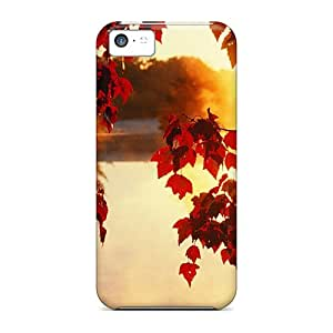 Hot Style IvO47383Ebza Protective Cases Covers For Iphone5c(nature Autumn Season)