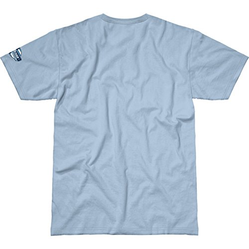 T 62 Sky Blue Hommes The Buzzing B's Design 7 shirt Of Fpq0Zdpw