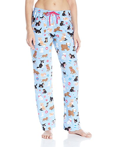 Little Blue House By Hatley Women's LBH Ladies Pajama Pants - Cute Pups,Cute Pups, X-Large