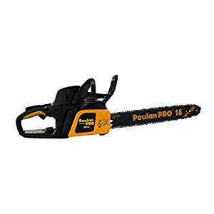 "Poulan Pro PP4218A 18"" 42CC 2 Cycle Gas Powered Tree Chainsaw w/Case (Certified Refurbished)"