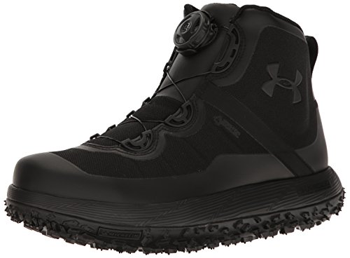 Under Armour Men's Fat Tire Gore-TEX Hiking Boot, Black (001)/Black, 12