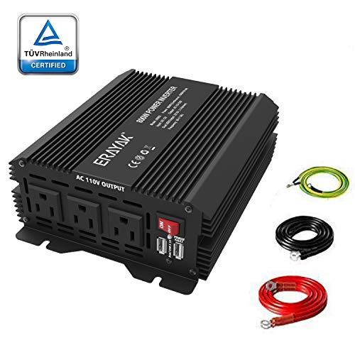 Power Inverter 4000w 8000w Pure Sine Wave 12v To 110v 120v With 40amp Output Fashionable Patterns Chargers & Inverters Power Inverters