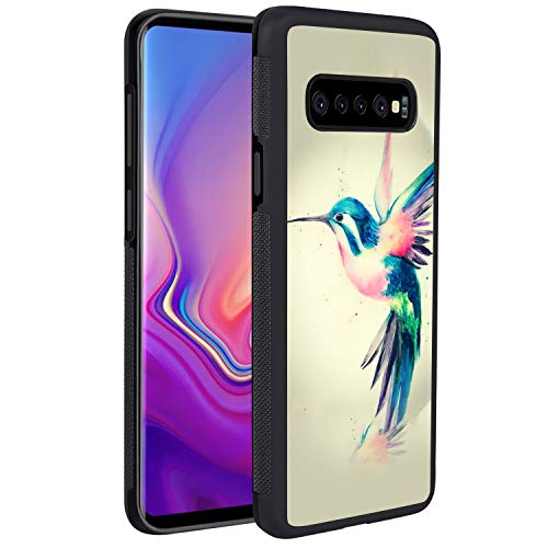 Galaxy S10 Case, Colorful Hummingbirds Art Reinforced Drop Protection Hard PC Back Flexible TPU Bumper Protective Casefor Samsung Galaxy S10 GEMYON for Samsung Galaxy S10 GEMYON ()
