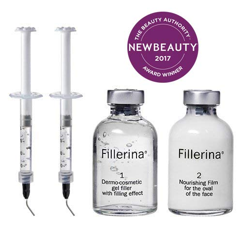 Fillerina Replenishing Treatment-Non Invasive Topical Application Anti Aging Treatment With Hyaluronic Acid l Dermo Cosmetic Filler Treatment (Grade 3)