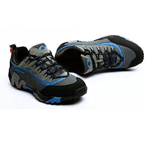 2017 Herbst Outdoor Wanderschuhe Paare Wandern Und Wandern Schuhe Rutschfeste Wasserdichte Wanderschuhe 38-44 Dark blue