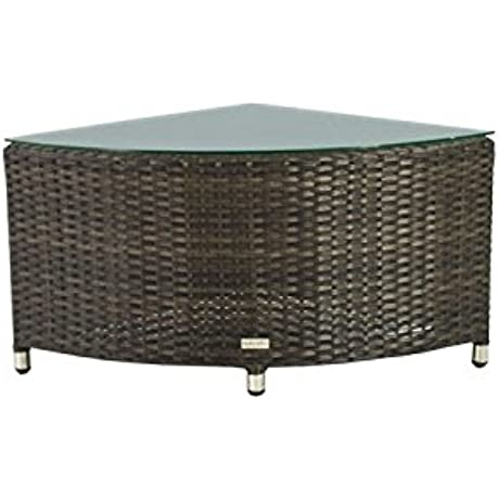 Source Furniture Quarter Round Circa Coffee Table Espresso