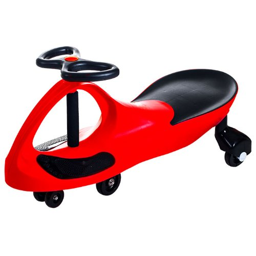 Deluxe Red Wiggle Ride on Car - Self Propelled!