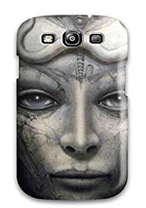 Protective Tpu Case With Fashion Design For Galaxy S3 (artistic)