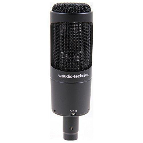 Audio Technica AT2050 Studio Condenser Mic w/Pop Filter, Cable, Boom Stand, Gear