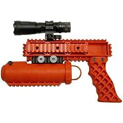 Pro-Defense The Defender Rail Mounted Pepper Spray System, Orange Color, Left/Right