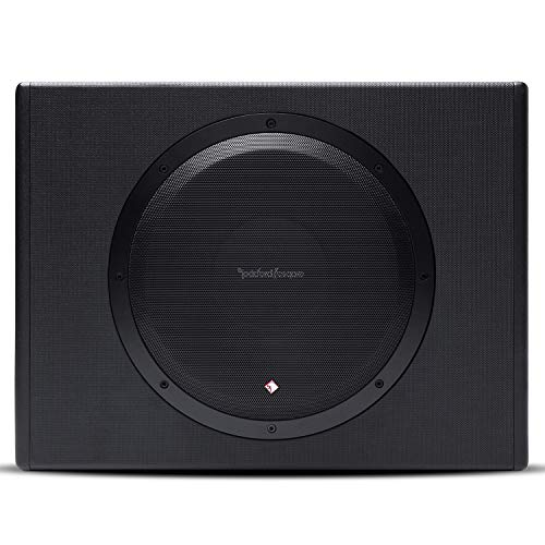 Rockford Fosgate P300-12 Punch 300 Watt Powered Loaded 12-Inch Subwoofer Enclosure (Car Subwoofer Rockford Fosgate)