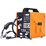 VIVOHOME Portable Flux Core Wire No Gas MIG 130 Welder Machine 110V