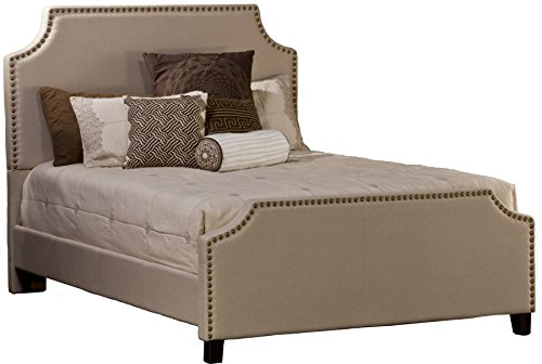 Hillsdale Dekland Collection Bed Set, Queen, Linen Stone (Hillsdale Sleigh Bed Set)